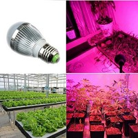 E27 LED Plant Grow Light Supplement Lamp Full Spectrum for Indoor Hydroponic Plant Vegetable Cultivation Horticulture Industrial
