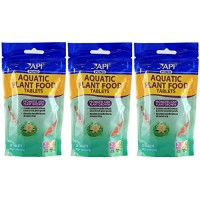 (3 Pack) API Pond Care Aquatic Plant Food, 25 Tablets each