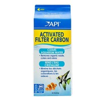 API ACTIVATED FILTER CARBON Aquarium Filtration Media 22-Ounce Box