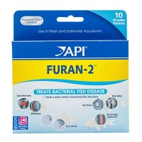 API FURAN-2 Fish Powder Medication 10-Count Box