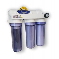 AquaFX Barracuda RO/DI Aquarium Filter, 100 GPD