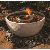 Aquascape 78201 Fire Fountain Water Feature for Patios, Decks, and Gardens, 24-Inch