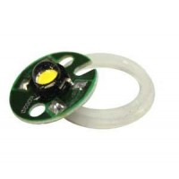 "Aquascape Inc New """"Natural"""" White LED Replacement Bulb - 98452 1-Watt 12 Volt Architectural Bronze LED Bullet Light"