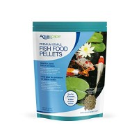 Aquascape Premium Staple Pond and Koi Fish Food, Mixed Pellet Size