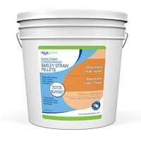 Aquascape Quick Start Barley Straw Pellets for Pond and Water Gardens, Concentrated, 5-lbs / 2.3 kg   96029