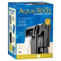 AquaTech Power Aquarium Filter, 5 to 15-Gallon Aquariums