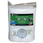 "Aquarium Filter Pad - Premium True Dual Density 12"" by 72"" by 3/4 to 1"" Aquarium Filter Media Roll for Crystal Clear Water"