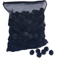 Aquatic Experts Bio Balls Filter Media with Mesh Bag - 300 Count - 1.5 Inch Large Bio Ball for Pond Filter with Mesh Bag - Perfect Bio Balls For Po...