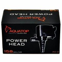 AquaTop PH-8 Power Head for Aquarium, 158-Gallons Per Hour, 8-Watts