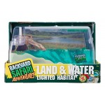 Backyard Safari Land and Water Lighted Habitat
