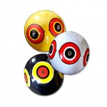 Bird-X Scare-Eye Bird Repellent Predator Eyes Balloons, Pack of 3