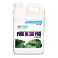 Botanicare PURE BLEND PRO Grow Soil Nutrient 3-2-4 Formula, 2.5-Gallon