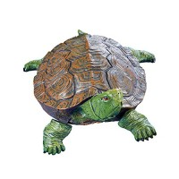 Collections Etc Realistic Garden Turtle Pond & Pool Floater Outdoor Decoration
