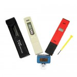 Digital Salt Water Aquarium pH Meter and LCD Thermometer with TDS Water Quality PPM Meter Pen Home Improvement Set Tools