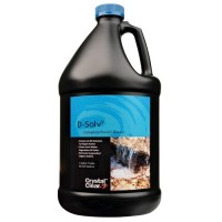 CrystalClear 24244 D-Solv9 Complete Pond Cleaner, 1 gallon