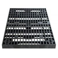 24 Inch x 36 Inch Heavy Duty Fountain Basin Grate - For Pond and Water Garden Features and More - Hides Reservoirs - Holds Bubblers, Rocks, Other D...