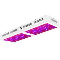 Dimgogo 2000w Triple Chips LED Grow Light Full Spectrum Grow Lamp for Greenhouse and Hydroponic Indoor Plants Veg and Flower (10w Leds)