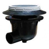 Koi Toilet I Aerated Bottom Drain - 3 Inch