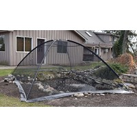 EasyPro PCT1014 Pond Garden Cover Protective Net Tent Dome Netting 10ft by 14ft