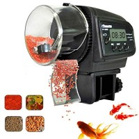 Fish Feeder, Automatic Fish Feeder, eBoTrade Aquarium Tank Auto Fish Food Timer Batteries Included 800EB