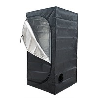 "ECO-WORTHY 32""X32""X63"" Mylar Hydroponics Grow Tent for Indoor Plant Growing"
