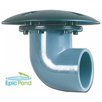 Epic Pond 90 Degree Pond Bottom Drain - 4 inch