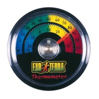 Exo Terra Thermometer, Celsius and Fahrenheit