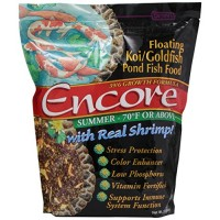 Encore Summer Koi Goldfish Food, 3-Pound