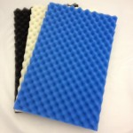 "Pond Foam Filter Media Pack (Set of 3) 17"" x 11"" Coarse, Medium and Fine."