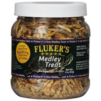 Fluker Labs SFK72020 Aquatic Turtle Medley Treat Food, 1.5-Ounce