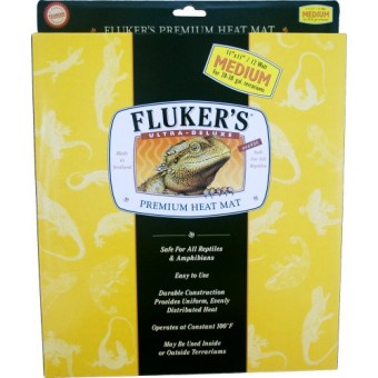 Fluker's Heat Mat for Reptiles and Small Animals, Large (17 x 11 Inches, 20 watt)