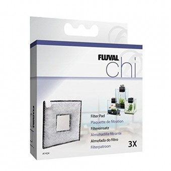 Fluval Chi II Replacement Filter Pad, 3-Pack