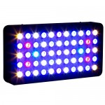 Galaxyhydro Led 55x3w Dimmable 165w Full Spectrum LED Aquarium Light for Reef Coral & Fish