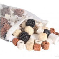 Bio Balls,Govine 500g Bio Balls Aquarium Pond Fish Tank Filter Ceramic Rings Filtration Media