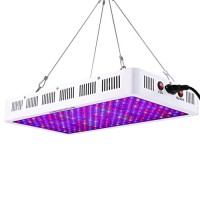 Growstar 1000W LED Grow Light Optical Lens, 12-Band Full Spectrum Veg and Bloom Switch Plant Light for Indoor Plants Garden Greenhouse Hydroponic U...