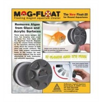 Gulfstream Tropical AGU00020 Mag-Float Round Fish Bowl for Aquarium Cleaner