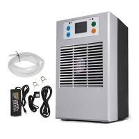 Happybuy 20L 70W Aquarium Water Chiller with Pump Kit Fish Tank Chiller Water Cooling Machine Shrimp Tank Water Cooler for Fresh Water Salt Water P...