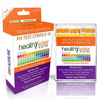 pH Test Strips 0-14, Universal Strips To Test Water Quality For Swimming Pools, Hot Tub, Hydroponics, Aquarium, Kombucha, Household Drinking Water,...