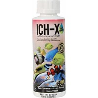 Hikari Usa AHK73314 Salt water Ich-X for Aquarium, 4-Ounce