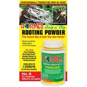 Hormex Plant Rooting Powder #8 - Clone Moderately Difficult to Root Plants - 3/4 oz