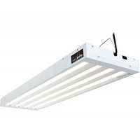 Agrobrite 4' 4 Tube Light Fixture With Bulbs
