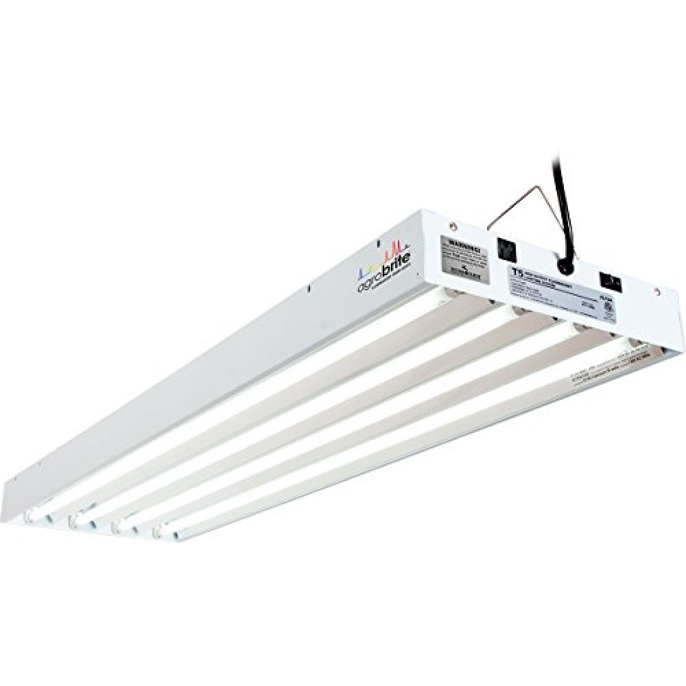 Agrobrite T5 4 Foot 4 Tube Fixture With Included