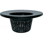 Hydrofarm HG6RDBK Wide Lip Bucket Basket Lid (Case of 25), 6""