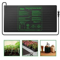"iPower Large Seedling Heat Mat 48"" x 20"" Warm Hydroponic Heating Pad with Durable Waterproof Design"