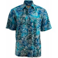 Costa Roosta XL, Blue/Green/Turquoise, X-Large, Johari West, Blue/Green/Turquoise