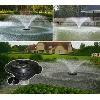 Kasco Marine Floating Fountain - 3/4 HP - Nozzle includes 5 different patterns - Designed for use in Lakes & Ponds Model# 3400JF (110volt w/100 ft ...