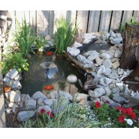 Koolscapes 270 Gallon Pond Kit with Lighting