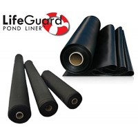 Anjon LifeGuard 8 ft. x 10 ft. 45 Mil EPDM Pond Liner and Underlayment Combo