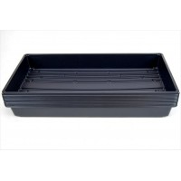 "10 Plant Growing Trays (No Drain Holes) - 20"" x 10"" - Perfect Garden Seed Starter Grow Trays: For Seedlings, Indoor Gardening, Growing Microgreens,..."