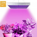 LVJING 120W Led Grow Light Panel - Indoor Plant Light Bulb - 1365 Red + Blue SMD - High Power - for Hydroponic Greenhouse Aquatic Plants Flowers Ve...